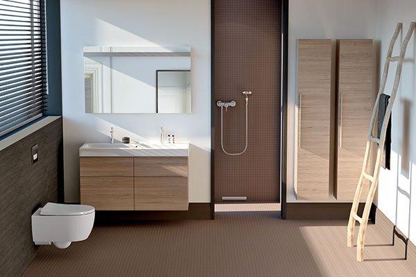 geberit Wandablauf Badezimmer